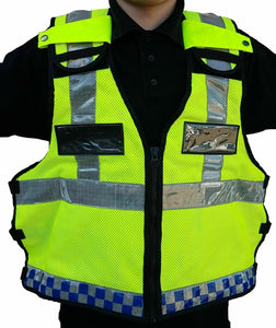 Ex Police Hi Viz Tactical Load System Tac Vest Security Dog Handler HV01