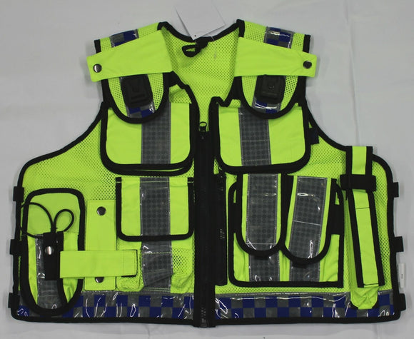 Hi Viz Tactical Load System Tac Vest Security Dog Handler Marshal HV09