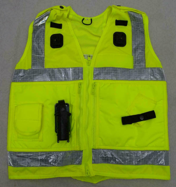 Ex Police Hi Viz Arktis Tactical Vest Security Marshal Dog Handler OHVTV26