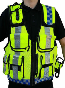 Hi Viz Tactical Load System Tac Vest Security Dog Handler Marshal HV05