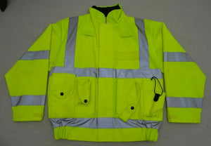 Hi Viz Tactical Vest/Coat Security Marshal Dog Handler OHVTV22