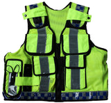Hi Viz Tactical Load System Tac Vest Security Dog Handler Marshal HV12