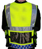 Ex Police Hi Viz Tactical Load System Tac Vest Security Dog Handler HV07