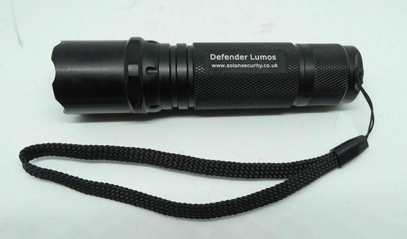 Defender Lumos Official Police LED Torch 150 Lumen