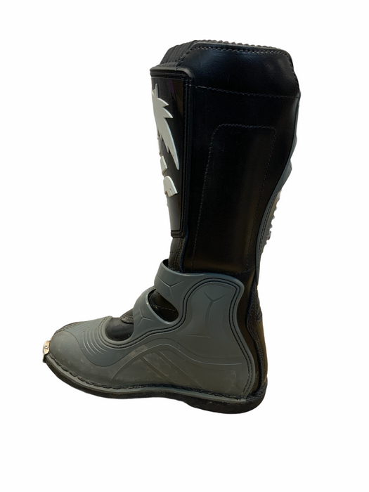 Used Wulf Sport Motorcycle Black Boots - OMCB06A
