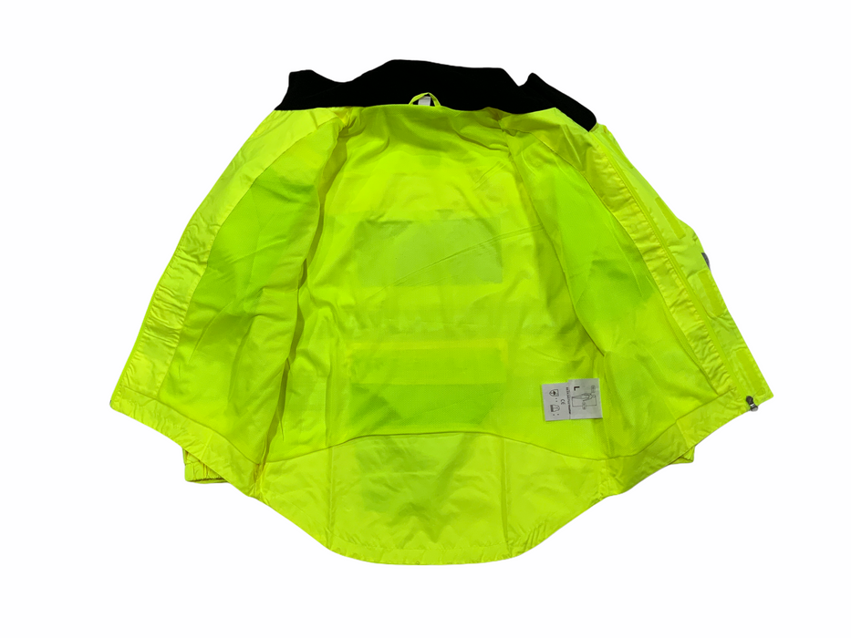 New Endura Hi Vis Waterproof Cycling Jacket with Scooped Back HVCC07N