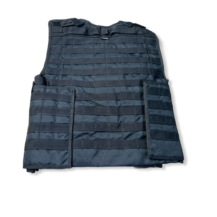 New Solo Black Tactical Molle Vest And Body Armour Cover !COVER ONLY!
