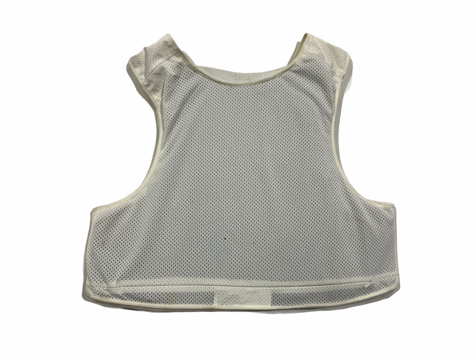 White Meggitt Covert Body Armour Stab & Spike Vest XL/S OA275