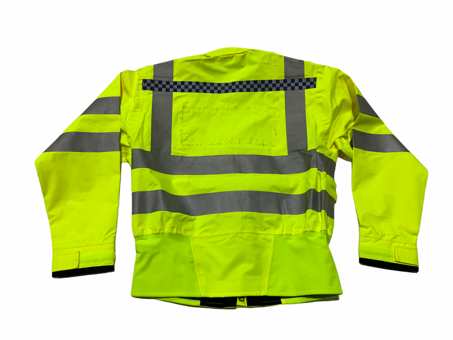Hi Vis Waterproof Gore-Tex Bomber Jacket Recovery Security Dog Handler XS/S OJ51