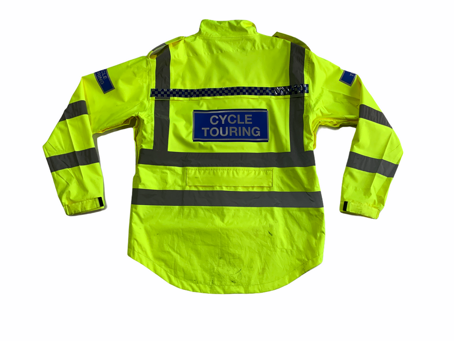Endura Hi Vis Waterproof Cycling Jacket with Scooped Back HVCC07B