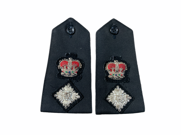 Obsolete Original Issue Chief Superintendent Police Rank 3D Epaulettes Grade A