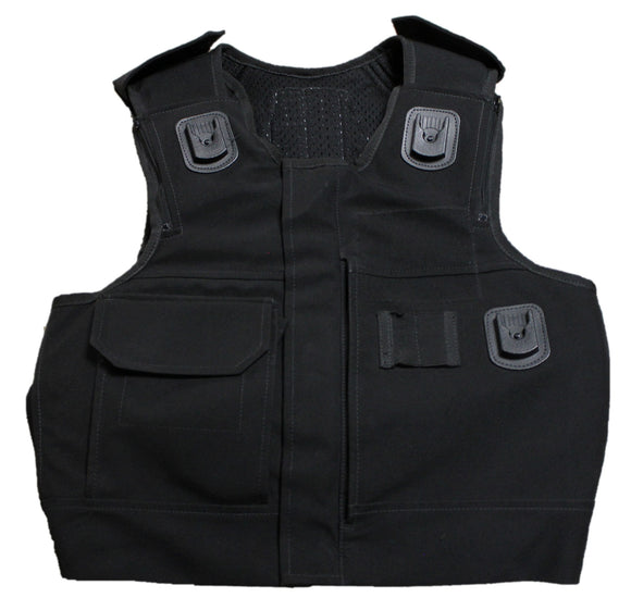 Ex Police Aegis/Hawk Body Armour Cover Tactical Vest Security **COVER ONLY**