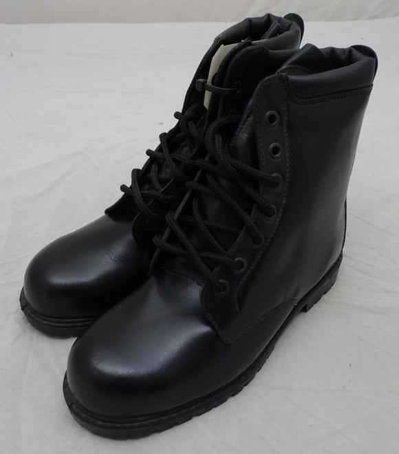 Black Leather (ATB) All Terrain Boots with Steel Toe Cap and Steel Midsole