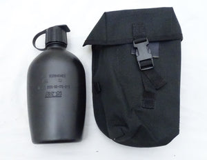 Ex Police Avon Plastic 1 Litter Water Bottle With Belt Pouch Hiking Camping