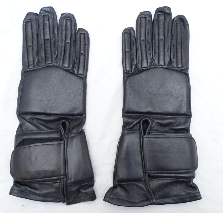 New Bennett Firearms Tactical Padded Black Leather Gloves GLV03