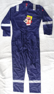 New Navy Portwest Bizweld Welder Coveralls Overall Boiler Suit Flame Retardant