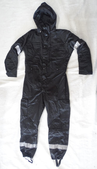 Black Derby Unitex Waterproof Tactical Coveralls Paintball Airsoft - Grade A