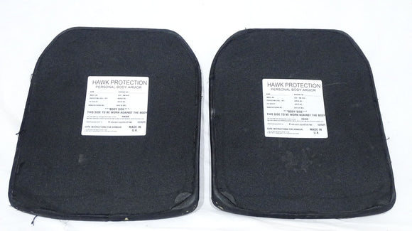 Black Hawk Ballistic Plates RF1 Rating In Grade B Condition