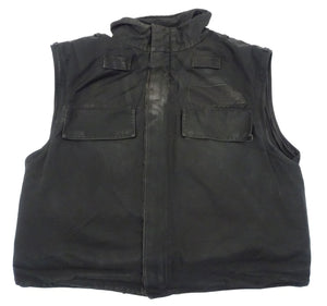 Meggitt Black Overt Body Armour Bullet Proof Stab Vest For Security Grade B