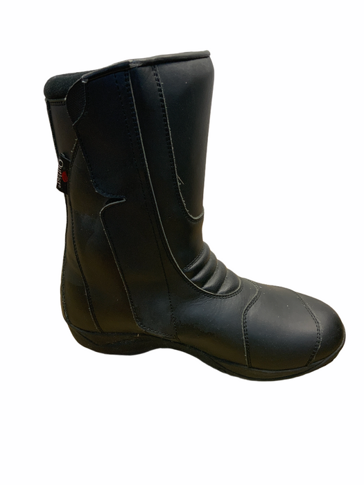 Used Lindstrands Champ Motorcycle Boot - LEFT BOOT ONLY - OMCB02