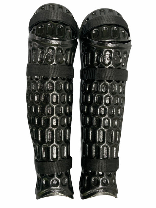 New Scorpion Riot Gear Knee & Lower Leg Shin Guards Paintballing Airsoft RG004