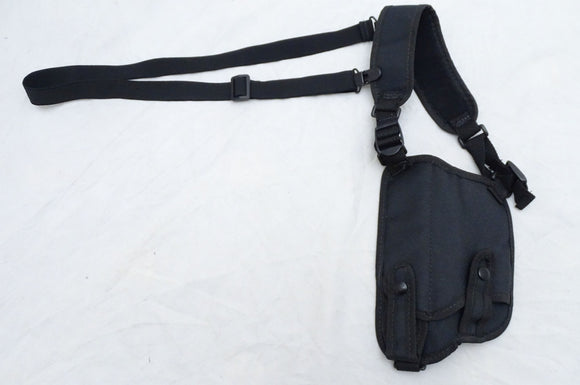Protec Black Covert Harness Covert Vest & Baton And Cuffs Pouch CH05A
