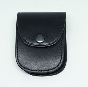 Closed Top Leather Handcuff Holder Pouch 9200 For Chain Link Cuffs