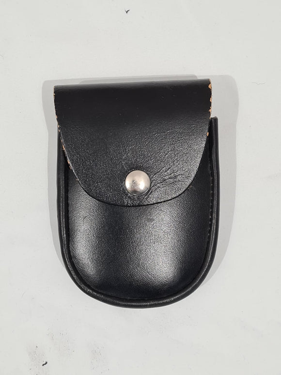 Closed Top Leather Handcuff Holder Pouch For Chain Link Cuffs 2