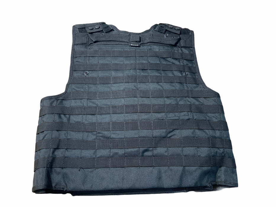 Solo Black Tactical Molle Vest And Body Armour Cover Grade AN !COVER ONLY!