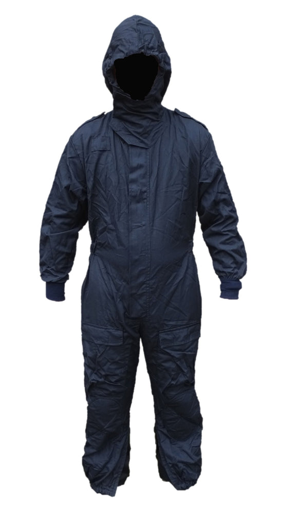New Police Navy Blue Special Forces Tactical Overall Coverall Paintball Airsoft