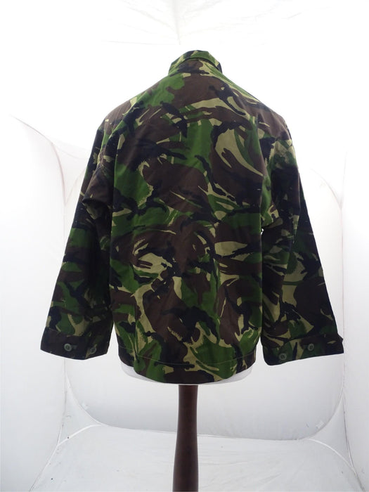 British DP Woodland Camo Lightweight Combat Jacket Army - 160/104 Height/Chest