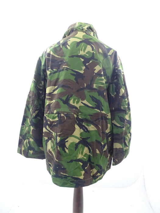 British DP Woodland Camo Windproof Combat Smock SAS Army - 106/104 Height/Chest