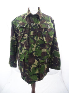 British DP Woodland Camo Field Jacket SAS Army - 170/96 Height/Chest