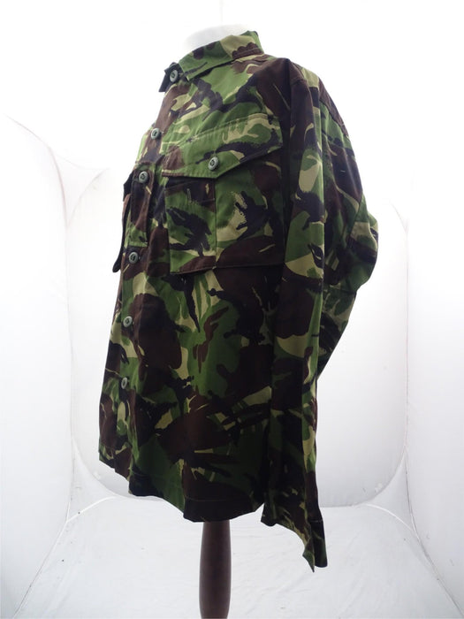 British DP Woodland Camo Lightweight Combat Jacket Army - 180/104 Height/Chest
