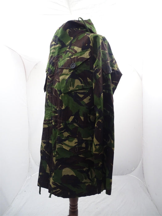 British DP Woodland Camo Windproof Combat Smock SAS Army - 190/112 Height/Chest