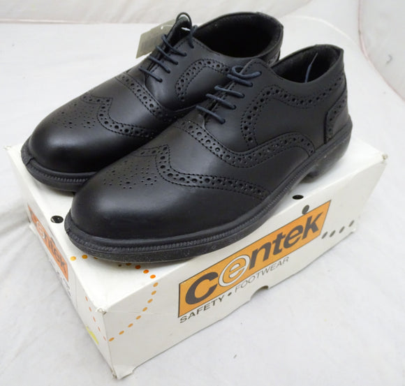 New Centec Steel Toe Cap Brogues Shoes Smart Work Shoes UK 10