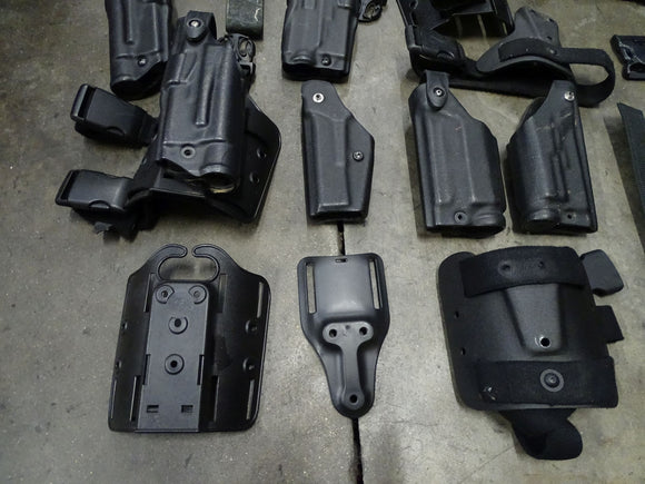 Job Lot Of Safariland Gun Holsters And Accessories - Spares And Repairs
