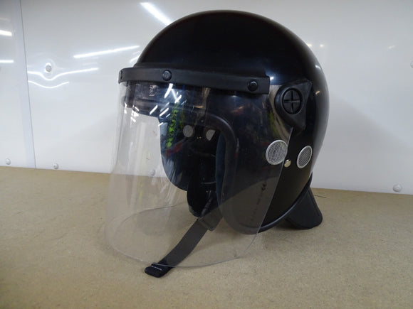 Black Protective Helmet Riot Helmet For Paintball And Airsoft Style 1 Grade A