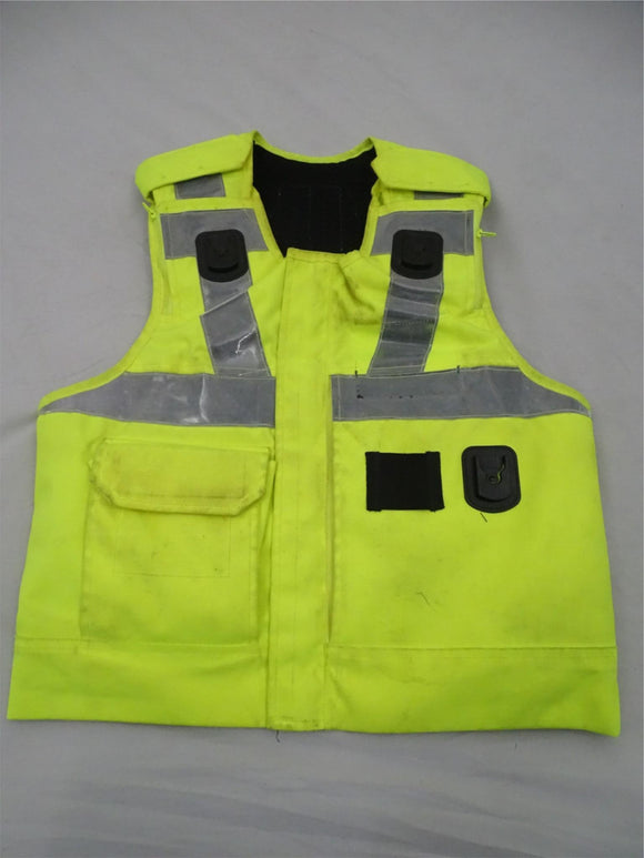 Aegis/Hawk Hi Vis Body Armour Cover Tactical Vest Security**COVER ONLY** Grade B
