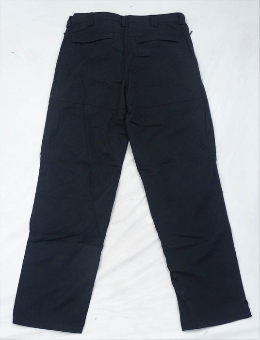 NEW KIT DESIGN Men's Black Tactical Ripstop Cargo Trousers Style 3