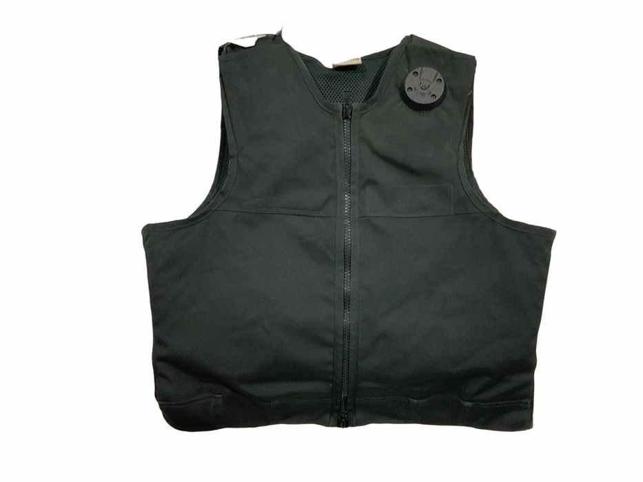 Aegis Hawk Black Overt Body Armour Bullet Proof Stab Vest For Grade A S/T OA265