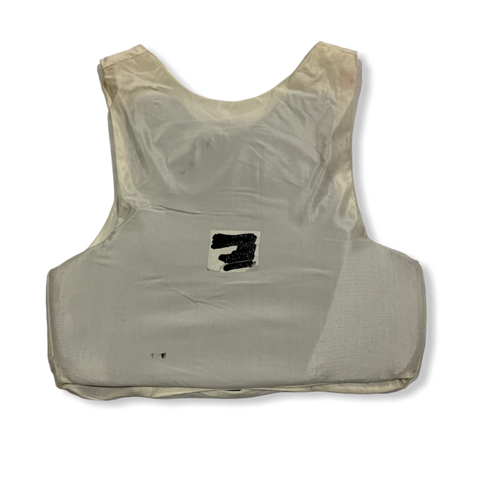 White Covert Body Armour Ballistic Protection XS/XS OA276