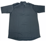 New Male Black Breathable Wicking Shirt With Epaulettes Security Dog Handler