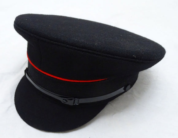 New Genuine Fire Service Flat Fleece Peaked Cap