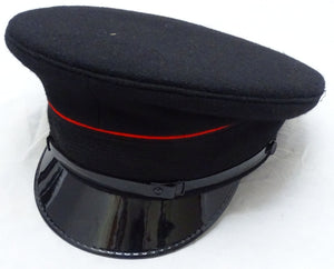 New Genuine Fire Service Flat Peaked Cap