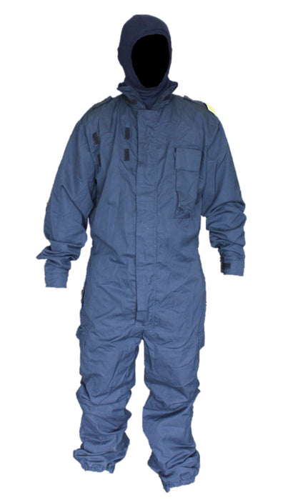 Fire Retardant Dark Blue Tactical Riot Overall Coverall Paintball Airsoft FR03A