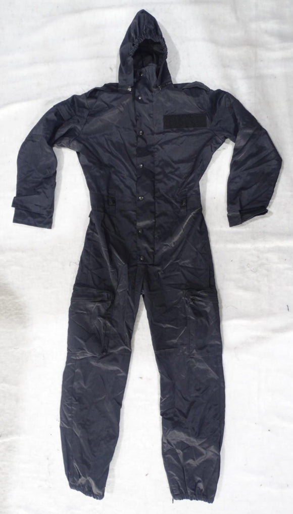 Navy Blue Derby Unitex Waterproof Tactical Coveralls - DUC9A