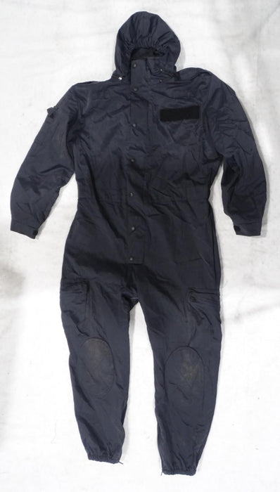 Navy Blue Derby Unitex Waterproof Tactical Coveralls - Grade B