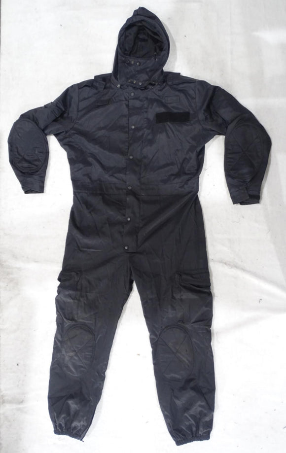 Navy Blue Derby Unitex Waterproof Tactical Coveralls - DUC14B