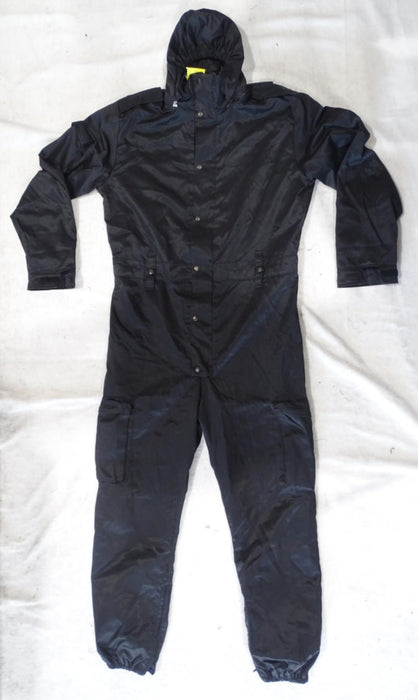 Navy Blue Derby Unitex Waterproof Tactical Coveralls - DUC17B